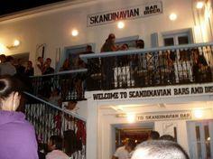 SKANDINAVAN BAR - Mykonos - Grécia Visite: www.megaroteiros.com.br