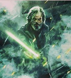 """LAST JEDI star wars episode 8 """"Luke Skywalker portrait"""" Ary by: Star Wars Fan Art, Star Wars Luke, Star Wars Jedi, Star Trek, Luke Skywalker, Sith, Star Wars Zeichnungen, Geeks, Images Star Wars"""