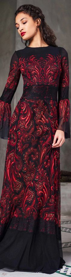 Pre-Fall 2020 Tadashi Shoji Tadashi Shoji, Diy Fashion, Autumn Fashion, Fashion Trends, Beautiful Outfits, Beautiful Clothes, Modest Dresses, Formal Wear, My Girl