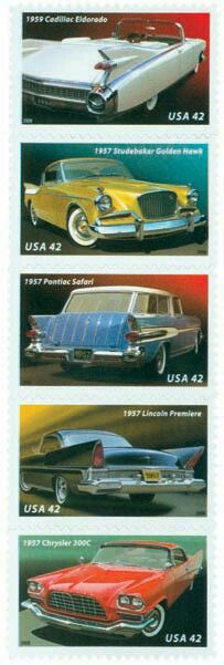 Classic Car Stamps for Collectors 100th Anniversary of Mercedes Benz 4 mint stamps never mounted and never hinged