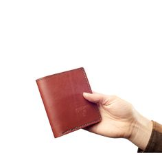 Bifold Wallet: Oxblood | Mercy Supply Co :: Handcrafted in the USA