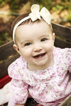 Gorgeous Isabella 6 month photos