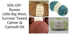 Hurry! Whilst stocks last.... http://englishyarns.co.uk/acatalog/Sale_Rowan.html