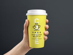This is a collection of the best coffee cup mockup psd for the presentation of cup, coffee brand, restaurant, stationary and store branding design. Manado, Coffee To Go, Coffee Cups, Coffee Shop, Coffee Label, Don Pollo, Interface Web, Behance, Coffee Branding