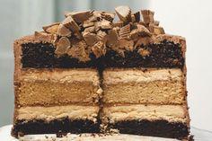 Chocolate Layer Cake - Peanut Butter Cup Chocolate Cake - Redbook