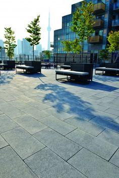 Unilock - Umbriano Plaza  Park from Unilock