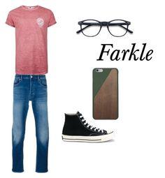 """farkle"" by blonderebel on Polyvore featuring Topman, Converse, STONE ISLAND, Native Union, men's fashion and menswear"