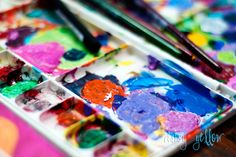 Art Journaling 101  Tons of tutorials and ideas on this site.