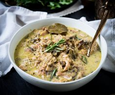 Instant Pot Chicken and Mushroom (Whole30, Paleo, Keto, AIP option)