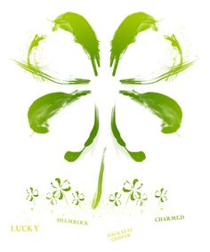 Cindys Tattoo Four Leaf Clover Designs