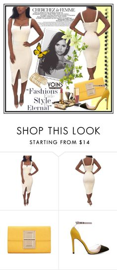 """Yoins 21"" by tanja133 ❤ liked on Polyvore featuring La Femme, Dolce&Gabbana, yoins, yoinscollection and loveyoins"