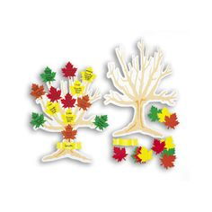 """R2620 My Family Tree Kit Ages 6+ Write the names and dates of relatives on paper leaves, add them to the tree to create a family history. Includes 12 trees, 12 banners, 200 leaves and idea guide. 9 x 12"""" (23 x 30 cm). 12/pkg."""