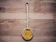 Ceramic spoon by GungaCeramics on Etsy