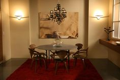 Christina Tonkin Interiors | van der woodsen residence ● living dining room ● gossip girl