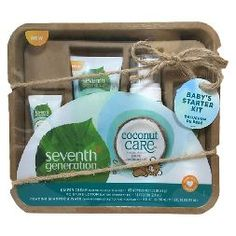 Seventh Generation™ Coconut Care Travel Size Baby Gift Set