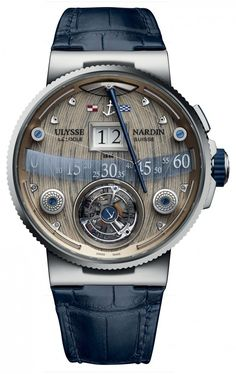 Ulysse Nardin has finally made its astonishing new Grand Deck Marine Tourbillon…