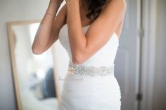 Wedding Sash Rhinestone Bridal Beaded  Bridal Sash by beaubouquet, $189.00