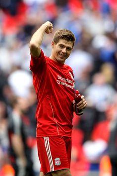 Steven Gerrard - Liverpool v Everton - FA Cup Semi Final