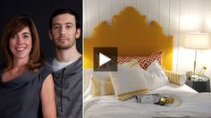 Sarah Richardson and her brother, industrial designer Theo Richardson of New York's Rich Brilliant Willing (RBW), explain how their 2011 Interior Design Show concept space came together. Learn how they collaborated on three colour-themed rooms — red, blue and yellow — combining Theo's contemporary lighting and furniture with Sarah's inviting style.