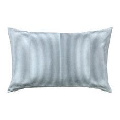 IKEA - REMVALLEN, Cushion cover, The cushion cover matches perfectly with several sofas and chairs in the IKEA range because it is made of the same fabric.The zipper makes the cover easy to remove.Can be used as a comfortable neckroll to support your neck or a lumbar cushion for your lower back.