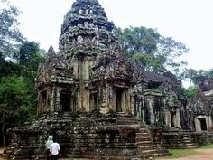 Thommanon temple is one of a pair of Hindu temples built during the reign of Suryavarman II (from 1113 –1150) at Siem Reap Angkor, Cambodia. To see what I am discussing about the temple in detail please check here http://amazingzon.org/thommanon-templ...