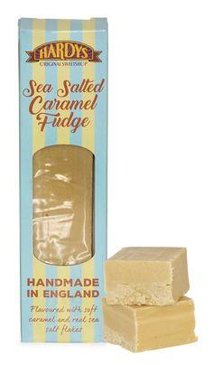 Hardys Original Sweetshop Sea Salted Caramel Fudge Sea Salt Flakes, Salted Caramel Fudge, Retro Sweets, Sea Salt Caramel, Confectionery, Peppermint, British, Chocolate, The Originals