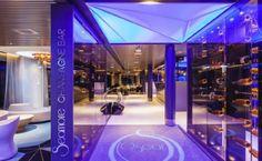 Sisustusarkkitehtitoimisto dSign Vertti Kivi & Co. Champagne, bar, Viking Grace