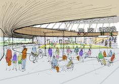 Gallery - FaulknerBrowns Propose Community Velodrome Scheme in Canada - 12