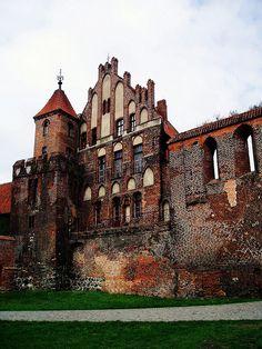 Torun, fortified city wall