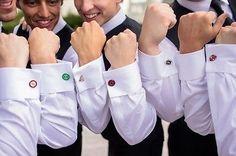 NEW Super Hero Cufflinks Mens Wedding Novelty Superhero Cuff Links Fashion Gift