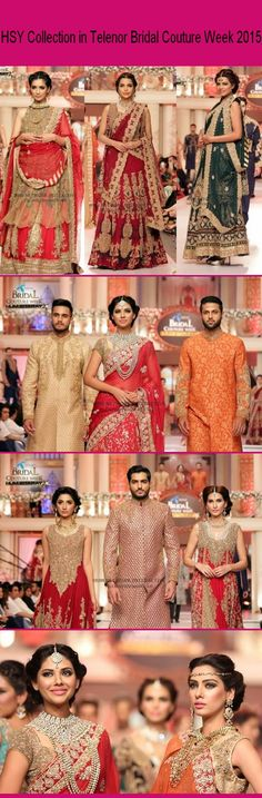 HSY Collection in Telenor Bridal Couture Week 2015