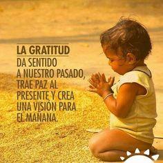 La gratitud le da sentido a la vida, a nuestras relaciones y nos crea un hermoso futuro. #RepDom
