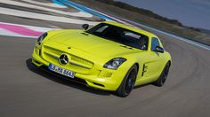 Mercedes SLS E Drive, Top gear rerun today, I guess there's hope for the electric car?