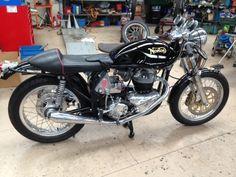 FOR SALE 1966 NORTON ATLAS 750 CAFE RACER VIN # 20/118025