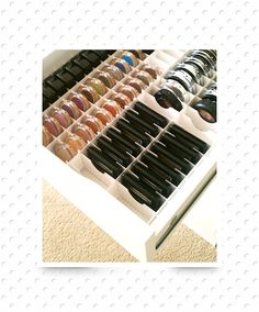 ideas makeup organization diy vanity drawer dividers for 2019 Diy Makeup Organizer, Makeup Drawer Dividers, Ikea Drawer Dividers, Makeup Storage Organization, Storage Ideas, Organization Ideas, Organizing, Acrylic Organizer, Bedroom Organization