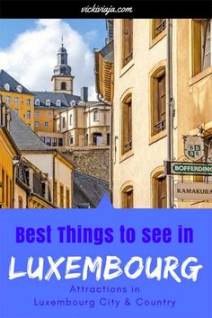 Best things to do in Luxembourg I Luxembourg City I Luxembourg Country I Day trips from Luxembourg City I Luxembourg Castles I Luxembourg Guide I Europe I European Destination, European Travel, Travel Tips For Europe, Travel Destinations, Reisen In Europa, Travel Photography, Landscape Photography, Night Photography, Landscape Photos
