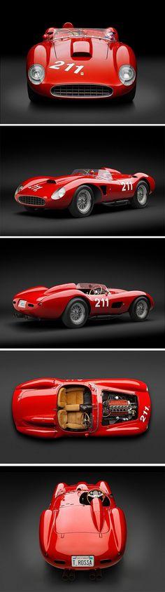 Visit The MACHINE Shop Café... ❤ Best of Ferrari @ MACHINE ❤ (1957 Ferrari 625 TRC Spyder)