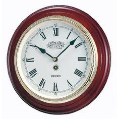 Buy Watch Online - 【Amazon.co.jp限定】SEIKO CLOCK (セイコークロック) 欧米モデル クラシック木枠掛時計(茶) BC226B   最新の時間センター