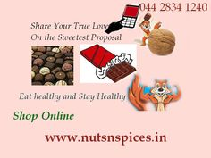 You can buy now tasty and healthy  imported chocolates  in online.