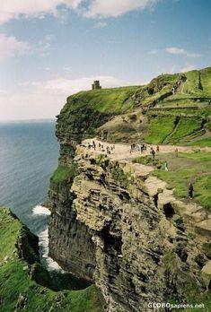 Cliffs of Moher, Burren region, County Clare, Ireland