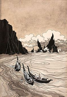 Previously undiscovered 'Lord of the Rings' illustrations unearthed by literary researcher