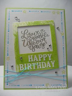 Happy Birthday Crafts, Are You Happy, Shabby, Challenges, Romantic, Paper, Stamping, Polaroid, Cards