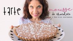 Tarte de Mousse de Chocolate Sweet Pie, Desert Recipes, Sweet Recipes, Cheesecake, Deserts, Food And Drink, Yummy Food, Sweets, Ethnic Recipes