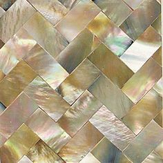 Check out this Daltile product: Ocean Jewels Brown Lip Herringbone 2 x 2 Flat Accents OJ05
