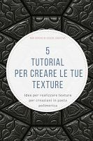 TUTORIAL: create your own polymer clay texture for free!