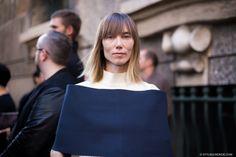 STYLE DU MONDE / Milan FW SS2014: Anya Ziourova  // #Fashion, #FashionBlog, #FashionBlogger, #Ootd, #OutfitOfTheDay, #StreetStyle, #Style