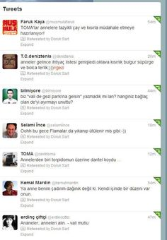 tweets about mothers' day in gezi. direngezi, occupygezi.