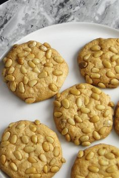 These traditional Italian pignoli and almond cookies are easy to make and utterly delicious. Gluten-free and dairy free, they are a perfect holiday cookie that almost everyone can enjoy.