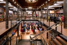 REI SoHo Historic Rennovation with Reclaimed Wood Flooring by TerraMai