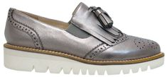 Bresley Span in Pewter Cole Haan, Pewter, Oxford Shoes, Trending Outfits, Dress Shoes, Lace Up, Footwear, Men, Fashion